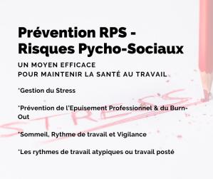Prévention RPS - Risques Psycho-Sociaux Gestion du Stress Prévention de l'Epuisement Professionnel & du Burn-Out Sommeil, Rythme de travail et Vigilance Les rythmes de travail atypiques ou travail posté